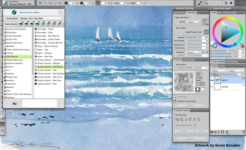 Corel Painter 2017 New Brushes And Customized Workflows Set The Standard For Digital Art Software