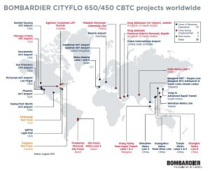 Bombardier Contributes to Increased Connectivity across Bangkok.
