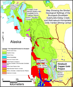 The Kinskuch Lake Copper-Gold Property