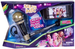 Sing, record and share! Create your own music videos and become a star, with Selfie Mic!