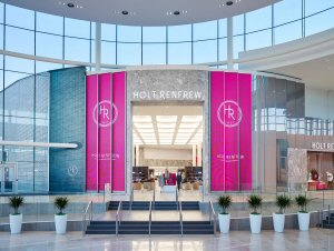 A sneak peek inside the new Holt Renfrew store - Photo credit Steve Tsai