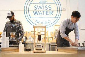 Swiss Water Pop-up Café