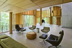The estate features an acoustically perfect concert hall for over 150 people
