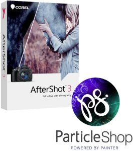 Together, AfterShot 3.1 and ParticleShop offer the industry's most affordable way to take advantage of Particle Brush technology. For the first time, Mac-based photographers can implement ParticleShop into their Corel photo software workflow.