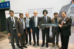 Bombardier liefert das erste Fahrzeug des neuesten Auftrags von Delhi Metro