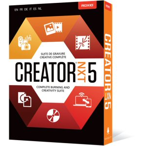 Roxio Creator NXT 5 is the latest version of Roxio's complete burning and creativity suite which lets you enjoy photo, video and audio editing, together with powerful CD and DVD burning.