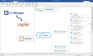 Get the full picture and use new Zapier support to automate tasks between MindManager and 700+ web applications and services.