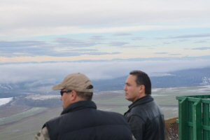 AFN National Chief Perry Bellegarde and Chief Roland Willson
