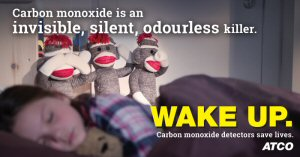 From November 1 to 7, ATCO, the Office of the Fire Commissioner and fire departments across Alberta are kicking off the annual Carbon Monoxide (CO) Awareness Week.