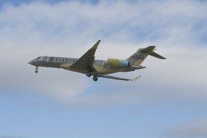 L'avion Global 7000 de Bombardier est en vol pour la première fois.