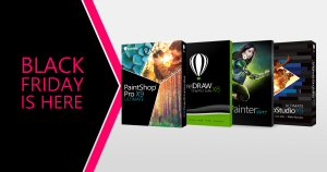 Black Friday starts early with savings on popular Corel, Roxio and Pinnacle products.