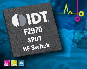 IDT Introduces RF Switch Supporting DOCSIS 3.1 Cable Networking Equipment