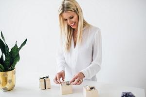 Little Box of Rocks founder Kiera Fogg
