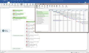 With Advanced Project Scheduling, MindManager Enterprise streamlines project planning with enhanced Gantt chart support and powerful plan-optimization features. It's easier than ever to see an entire project and improve business processes from start to finish.