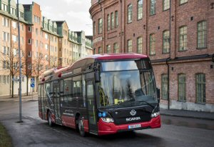 BOMBARDIER PRIMOVE Technology Enters Service on Scandinavia's First Inductively Charged Bus Line