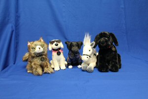 The Rocky & Friends collection of limited edition plush toys is available at pawsandgive.ca and supports animals in need.
