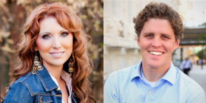 Utah's Jessie Funk (left) and Clay Olsen (right) join Count Me In's international Board of Advisors