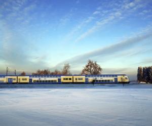 Bombardier Fahrzeuge bilden das Rückgrat des Regionalverkehrs in Niedersachen, Deutschland