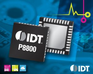 IDT Announces Industry's First Power Management IC for DDR4 NVDIMMs