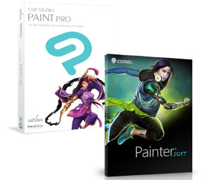 Combine the power of Corel Painter 2017 and CLIP STUDIO PAINT PRO to discover an unrivaled sketch-and-paint workflow - available for a limited time in a special bundle.