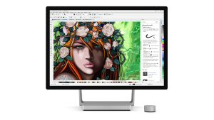 CorelDRAW Graphics Suite 2017 lets designers make the most of the latest pen- and touch-enabled devices, including the Microsoft Surface Studio.
