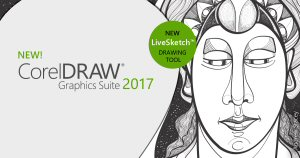 CorelDRAW Graphics Suite 2017 with LiveSketch brings the fun and creative experience of pen and paper to vector illustration for the first time.
