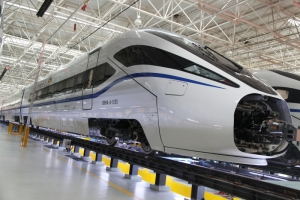 Bombardier's Joint Venture Wins Contract to Build 40 High Speed Train Cars for China