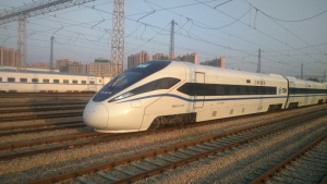 New generation of eco-friendly CRH series trains renowned for advanced design and exceptional passenger experience