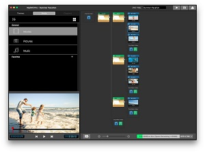 MyDVD Pro makes it simple to drag and drop files created with your favorite video editor to burn engaging and polished-looking discs.
