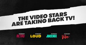 Stingray Introduces a New Golden Age of Music TV with the Launch of Stingray Retro, Stingray Vibe, Stingray Loud, and Stingray Juicebox.