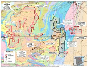 "Bathurst Mining Camp (""BMC"") Map"