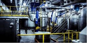 Radient processing equipment in Edmonton, Alberta 2017