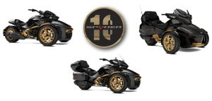 Special Edition 10th Anniversary Can-Am Spyder Models, © BRP 2017