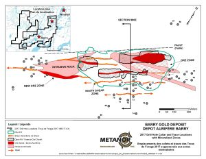 Plan view of the Barry project