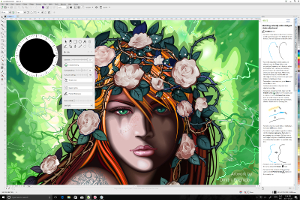 CorelDRAW Graphics Suite 2017, the industry's most powerful graphics solution built specifically for Windows, now offers advanced support for Microsoft Surface Dial.