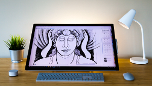 With industry leading support for Surface Pen and Surface Dial, plus innovative tools like LiveSketch, CorelDRAW 2017 offers designers a dramatically natural and highly interactive creative experience.