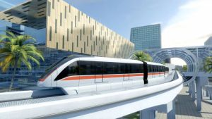 The Driverless INNOVIA Monorail 300 system