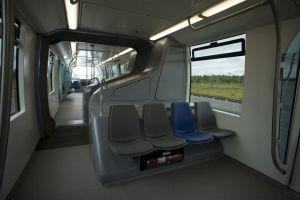Driverless INNOVIA Monorail 300 system - interior