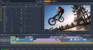 Pinnacle Studio 21 Ultimate now gives editors more control with new features like Keyframe-based effects that can be set parameter by parameter.