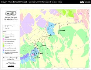 Figure 2 - Bayan Khundii Plan Map