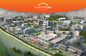 Aerial view of Capstone at Riverlands
