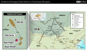 Figure 1 - Erdene Emerging Gold District