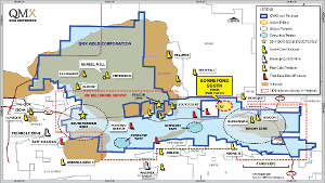 Figure 1: Val d'Or Mining Camp Property - Current Activities