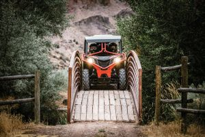 All-new 2018 Can-Am Maverick Trail side-by-side vehicles ® BRP