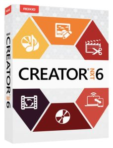 New Roxio Creator NXT 6 is your complete, easy-to-use digital media suite -- now with an enhanced array of video editing tools.