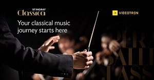 Stingray Classica, the world's premium classical music television channel, is now available to Vidéotron subscribers