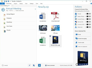 WinZip 22 delivers a simplified workflow and new security features to keep confidential information safe.