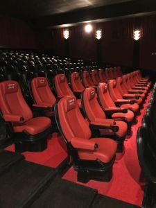 Salle de cinéma avec les sièges D-BOX, Argentine