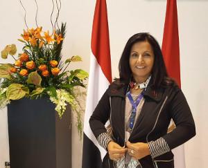 Almas Jiwani, CEO & President of the Almas Jiwani Foundation