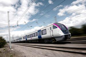 BOMBARDIER AVENTRA trains for UK's c2c rail franchise network